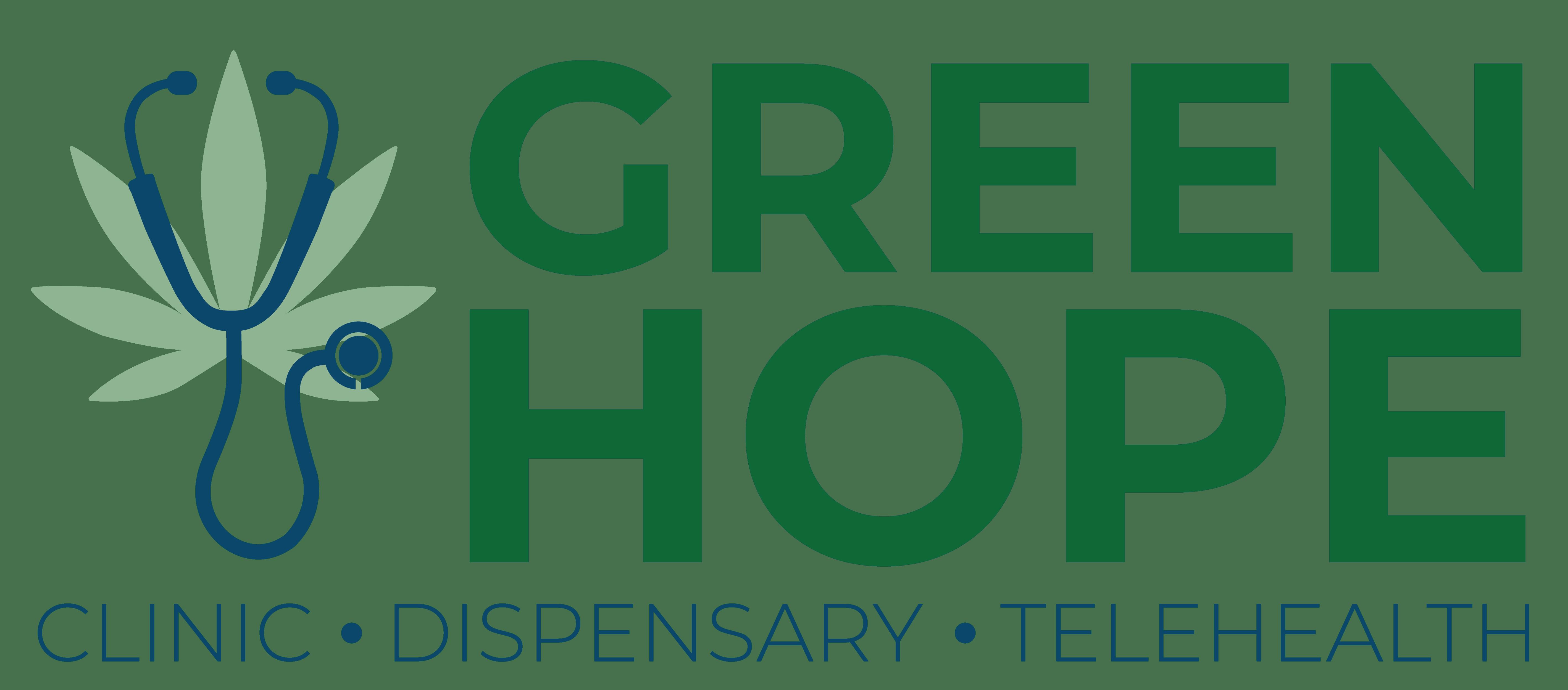 Green Hope Logo Green Version on Transparent Background